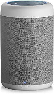 GGMM Dot用スピーカードック 5200mAhバッテリー搭載 ポータブル化対応 360°全方向 拡張スピーカー 重低音強化 最大出力20W 専用設計 3.5mm AUX接続 高音質再生 (白)