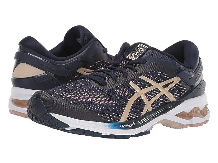 ASICS  GEL-Kayano 26 (Midnight/Almond) Womens Running Shoes