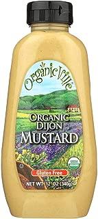 OrganicVille Dijon Mustard, 12 Ounce - 12 per case.