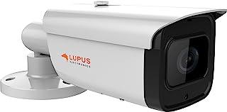 Lupus   LE221 8MP PoE Kamera für draußen, SD Slot, Motorzoom, Nachtsicht, Bewegungserkennung, Ios und Android App, Integrierbar in Die LUPUSEC Smarthome Alarmanlage, inkl. Verwaltungssoftware