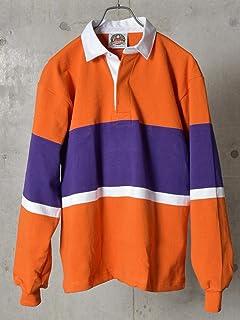[シップスジェットブルー] Tシャツ 長袖 BARBARIAN 別注 ラガーシャツ メンズ 122080063