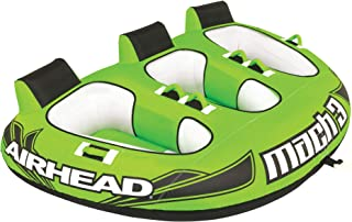 Airhead Mach | Towable Tube for Boating - 1, 2, and 3 Rider Sizes