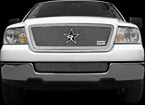 RBP RBP-158556 RX-5 Halo Series Chrome Studded Frame Main Grille for Ford F-150