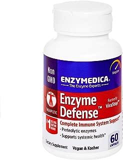Enzymedica, Enzyme Defense, Specialized Enzyme Formula for Immune System Support, Vegan, Kosher, 60 Capsules (60 Servings) (FFP)