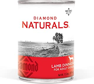 DIAMOND NATURALS Real Meat Recipe Premium Canned Wet Pate Dog Food, 13.2Oz Case of 12