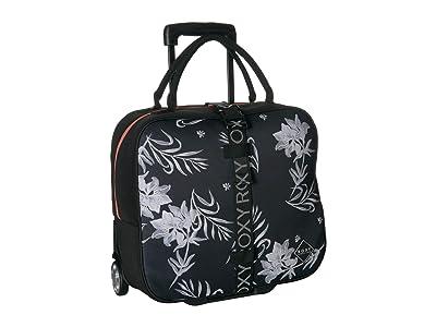 Roxy Geometric Storage Luggage (Anthracite) Carry on Luggage
