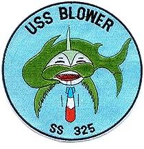 SS-325 USS Blower Patch