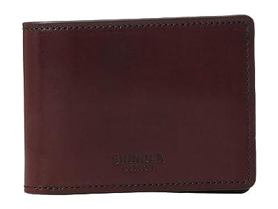 Shinola Detroit Slim Bifold 2.0 Harness (Oxblood) Bi-fold Wallet