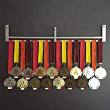 HANG BAR - Wall medal extension - Medal holder - Add up to 30 medals - Sport Medal Hanger - Display Rack - Stainless Steel...
