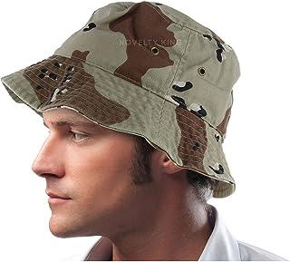 DS DealStock Mens 100% Cotton Fishing Hunting Summer Bucket Cap Hat