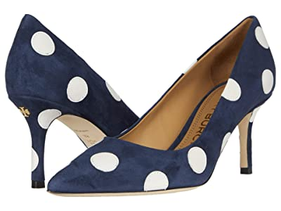 Tory Burch Penelope 65 mm Pump (Perfect Navy/New Ivory) Women