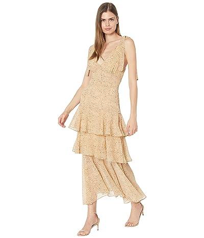 WAYF Hampton Tiered Midi Dress