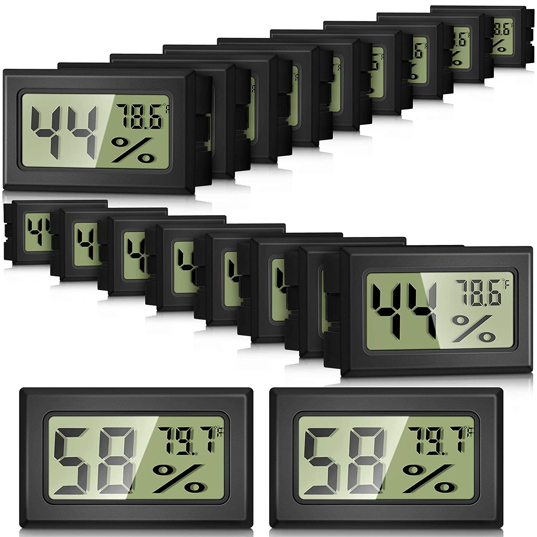 20 Oakland Mall Cash special price Pieces Mini Humidity Gauge Indoor Hygromet Digital Electronic