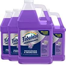 FABULOSO Professional All Purpose Cleaner & Degreaser Gallon Refill, Lavender, 4 Gallons Total (128 oz Bottle   Case of ...