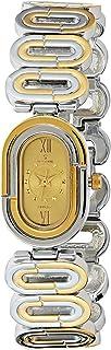 Spectrum Women's Dial Brass Plated Band Watch - 22204L-3