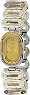 Spectrum Women's Dial Brass Plated Band Watch - 22204L-3