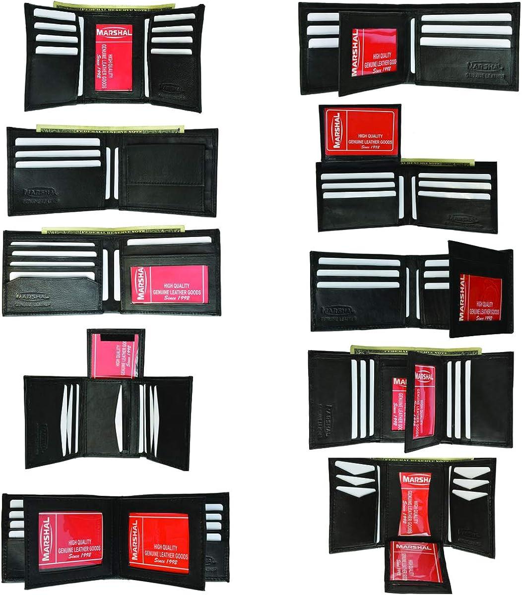 Wholesale Men's Lambskin Wallets Trifold & Bifold by Marshal