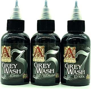 Black Gray Tattoo Inks Alla Prima Arcane 3 5 7 Three Stage Pigments 2oz Bottles