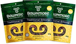 Bawnmore Traditional Biltong (2 Ounce - 3 count) - Healthy Snack