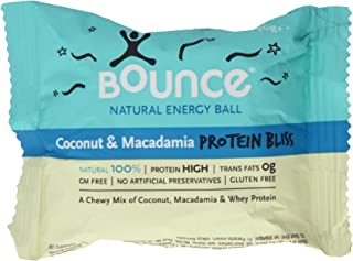 Bounce Coconut and Macadamia Protein Bliss Energy Balls 40 g (Pack of 5)