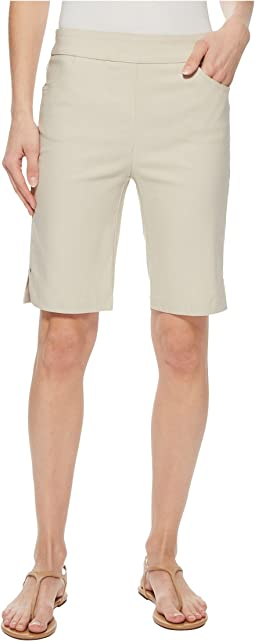 "Stretch Bengaline 10"" Pull-On Flatten It Shorts"