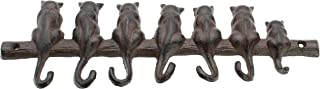Cat Cast Iron Wall Key Hanger Decorative Cast Iron Wall Hook Rack Vintage Design Hanger Wall Mounted