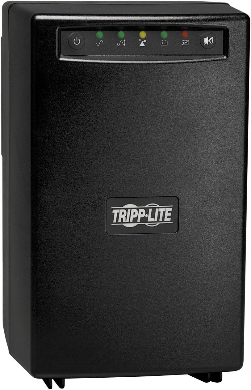 Tripp Lite OMNI750ISO 750VA 500W UPS Battery Back Up Tower Isolation Transformer 120V, 6 Outlets