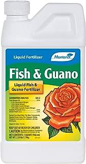 Monterey LG 7265 Fish & Guano Liquid Plant Fertilizer for Transplants and Flowers, 32 oz, 32 oz