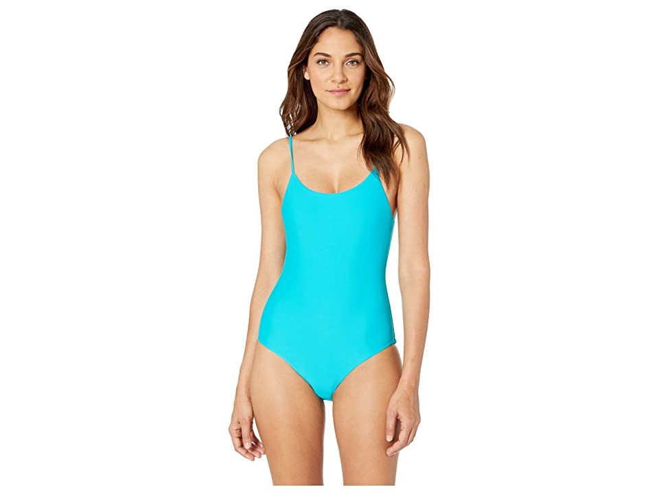 Body Glove Smoothies Simplicity One-Piece (Peacock) Women