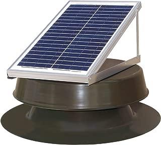 Natural Light Solar Attic Fan 24-watt Bronze