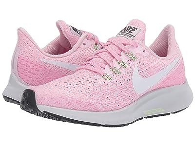 Nike Kids Air Zoom Pegasus 35 (Little Kid/Big Kid) (Pink Foam/White/Pink Rise/Anthracite) Girls Shoes