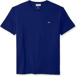 Mens Short Sleeve Crew Neck Pima Cotton Jersey T-Shirt