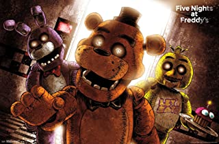Five Nights At Freddy's - Scare Poster Print (34 x 24)