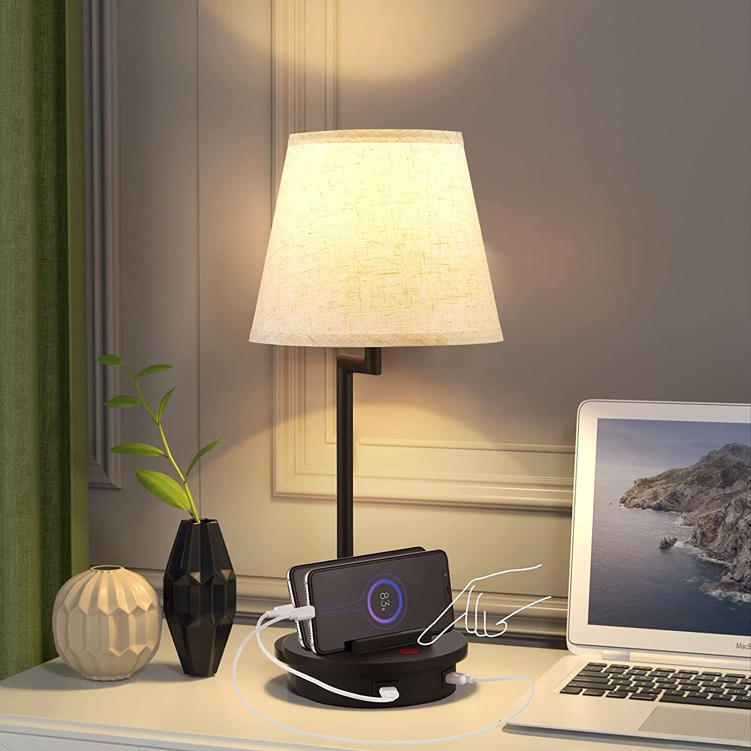 Table 2021 spring and specialty shop summer new Lamp for Bedroom Touch Fully Stepless Dimmab Bedside