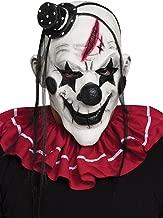 Fun World Clown Mask Multicoloured Accessory, White/Black