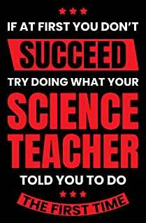 Science Teacher Poster, 11x17 Inches, Scientist Wall Art Print, Chemistry, Physics, Technology, Education Decor School