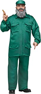 Disfraz De Dictador Comunista Cubano De Fidel Castro Para