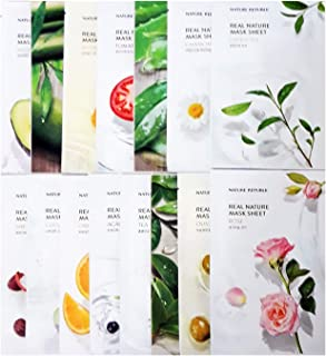 Nature Republic Real Nature Mask Sheet 30pcs Lot Facial Skincare Fast Shipping