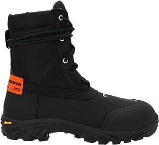 Luxury Fashion | Heron Preston Men HMIA019F20LEA0011022 Black Polyester Ankle Boots | Autumn-winter 20