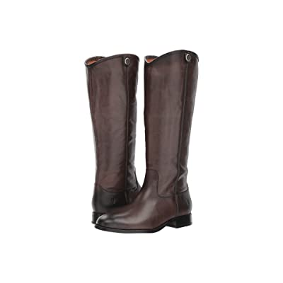 Frye Melissa Button 2 (Smoke Extended) Cowboy Boots