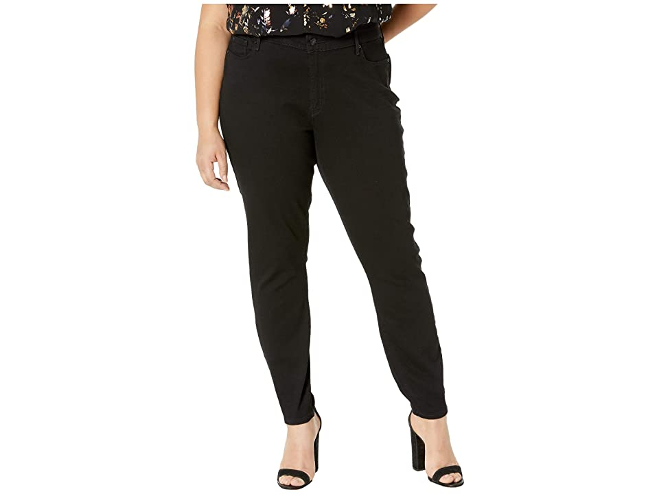 Signature by Levi Strauss & Co. Gold Label Plus Size Modern Skinny Jeans (Black Opal) Women