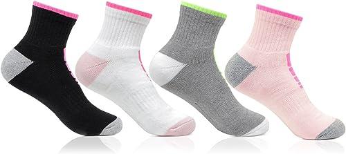 Bonjour Women's Socks (Pack of 4)