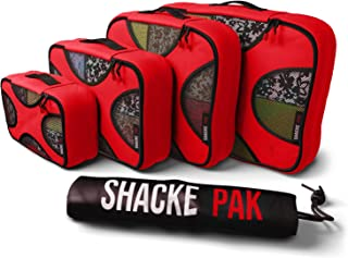 Pak - 5 Set Packing Cubes - Travel Organizers with Laundry Bag