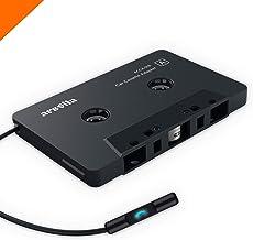 Arsvita Car Audio Bluetooth Cassette Receiver, Tape Player Bluetooth 5.0 Cassette Aux Adapter