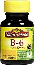 Nature Made Vitamin B6 100 mg Tabs, 100 ct