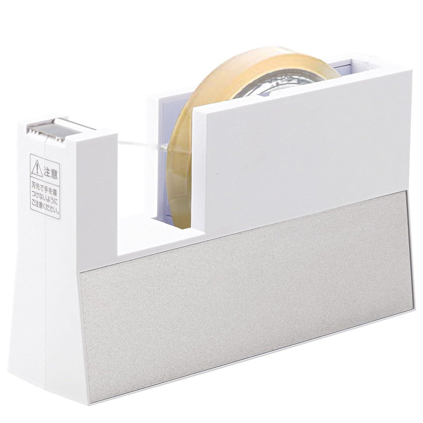 NICHIBAN tape dispenser linear beauty white TC-CB5 (japan import)