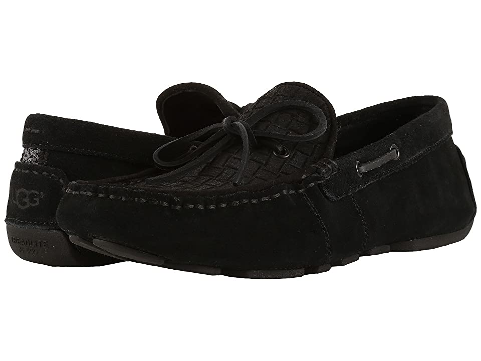 UGG Everton Rivera Emboss (Black) Men