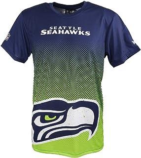 43ad30353 New Era T-Shirt der Seattle Seahakws Modell NFL Gradient mit besonderem  Farbverlauf für Damen