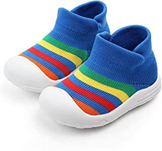 Pretty.auto Zapatos de bebé Antideslizantes para Interiores y niños, Transpirables, elásticos, para Caminar al Aire última intervensión, niños y niñas