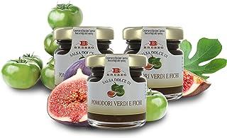 Confitura de Tomates Verdes con Higos y Limón - Salsa para Tabla de Quesos - 40 Gramos (Paquete de 5 Piezas)